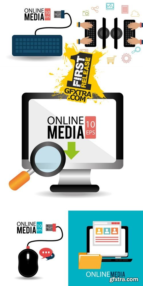 Vector - Technology Design - Online Media