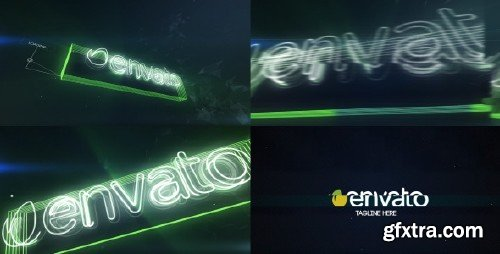 VideoHive - Neon Glitch Logo Reveal 10227339