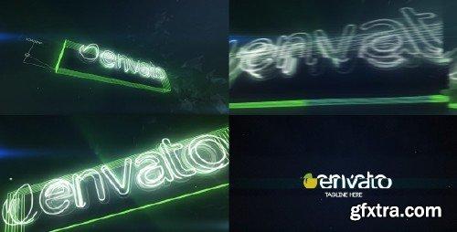 VideoHive - Neon Glitch Logo Reveal 10227339