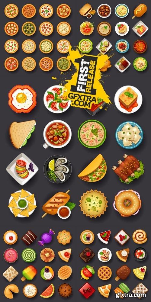 Vector - Food Icon Set