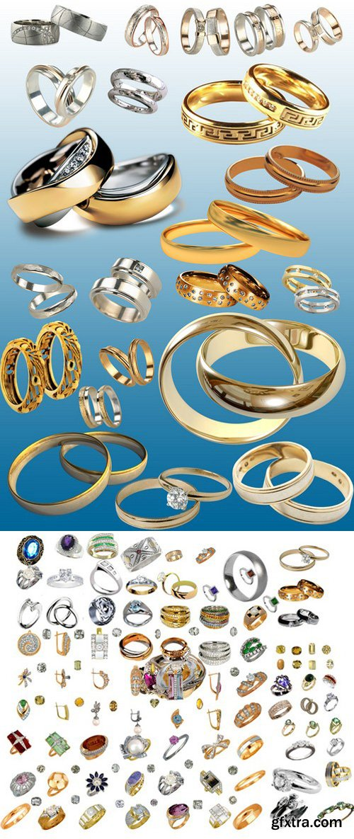 Jewelry Psd Design Elements