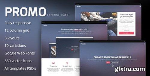 ThemeForest - Promo v1.0 - Responsive Landing Page Template - FULL