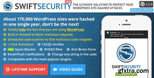 CodeCanyon - Swift Security v1.2.4 - The Ultimate WordPress Protection