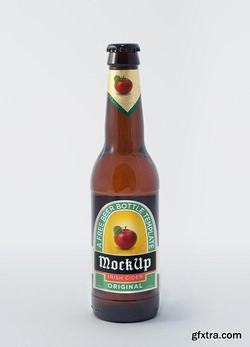 PSD Mock-Up - Beer Bottle 2015