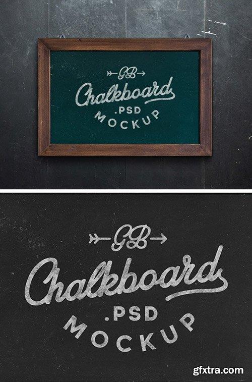 PSD Mock-Up - Chalkboard 2015