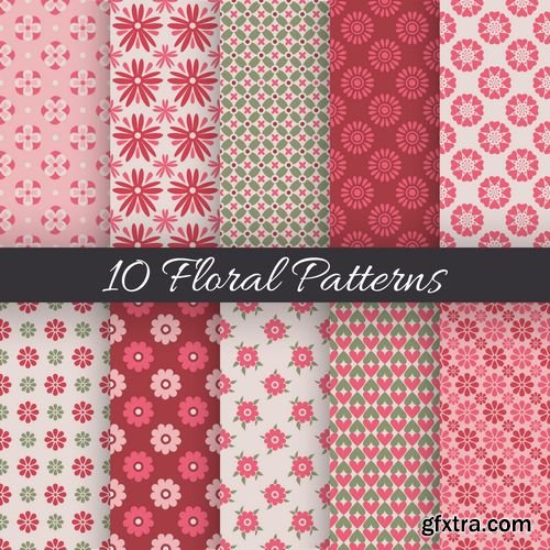 Vector - 50 Color Seamless Pattern