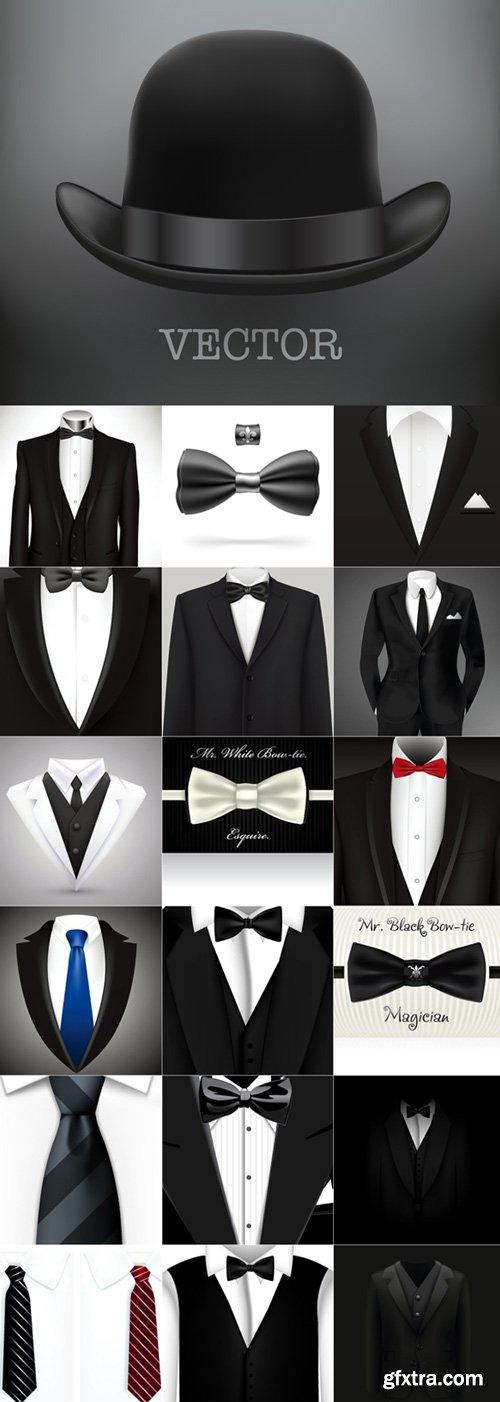 Men's style vector
