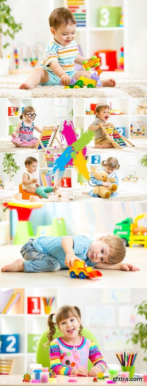 Stock Photo - Kids Playing