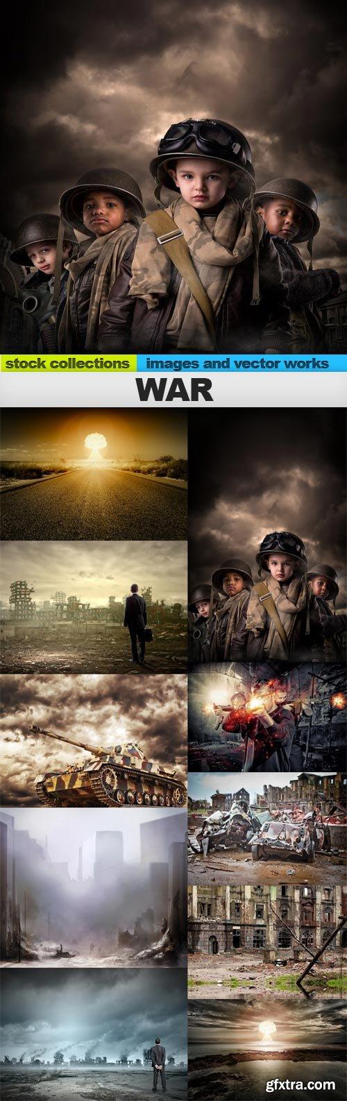 War, 10 x UHQ JPEG