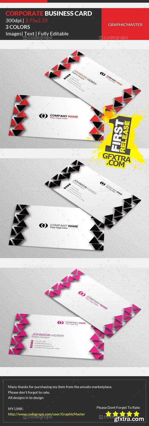 CodeGrape -Corporate Business Card 1 5362
