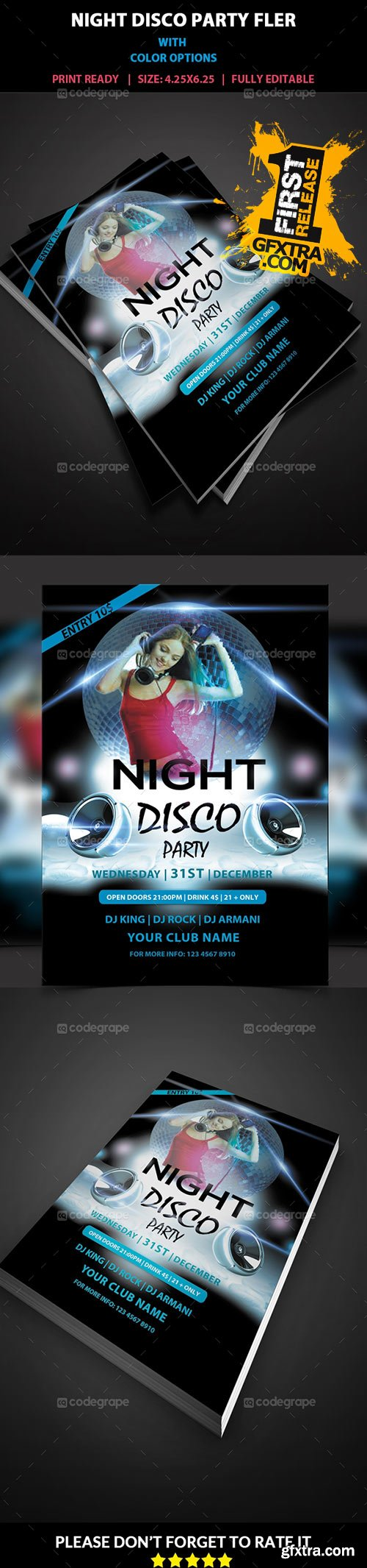 CodeGrape - Night Party Flyer 5314