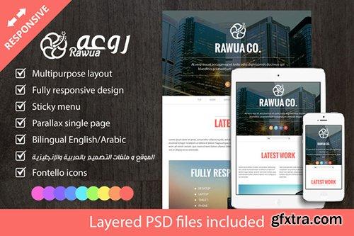 CodeGrape - Rawua – HTML Responsive Single Page – Bi-lingual Theme