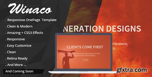 CodeGrape - Winaco – Responsive One Page Template