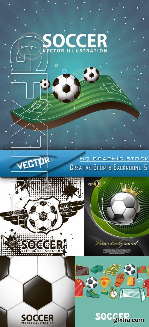 Stock Vector - Creative Sports Backround 5