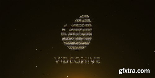 Videohive Gold Particles Logo Pack 8409433