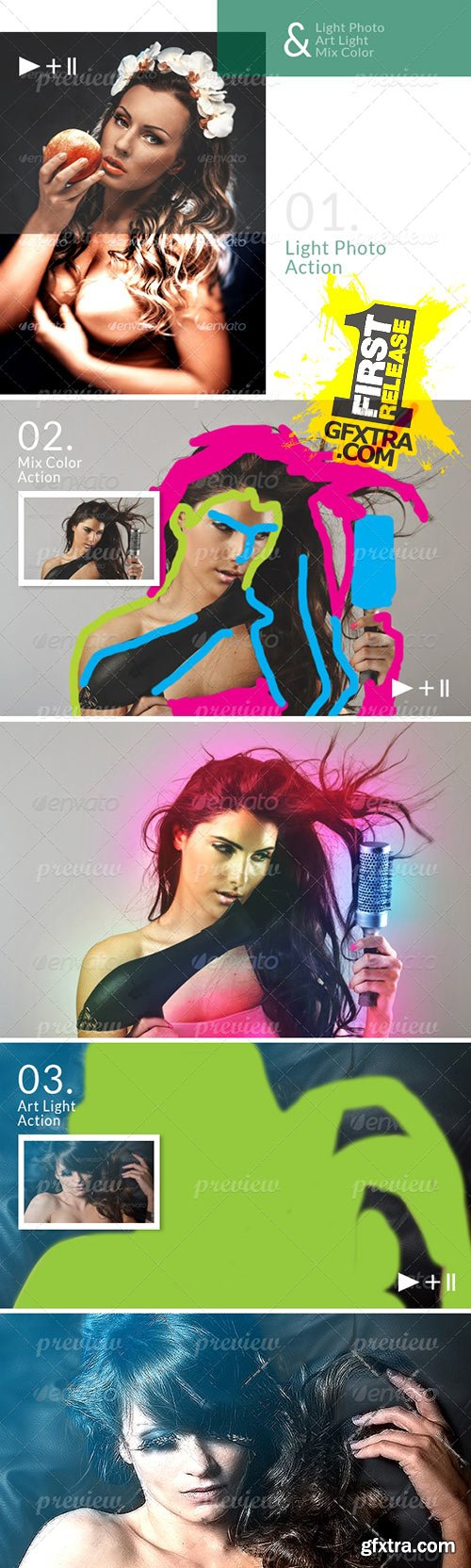 CodeGrape - Photoshop Effect Action 4275