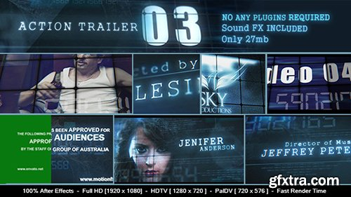 Videohive Action Trailer 3 9704853 (SOUND FX FILE INCLUDED)
