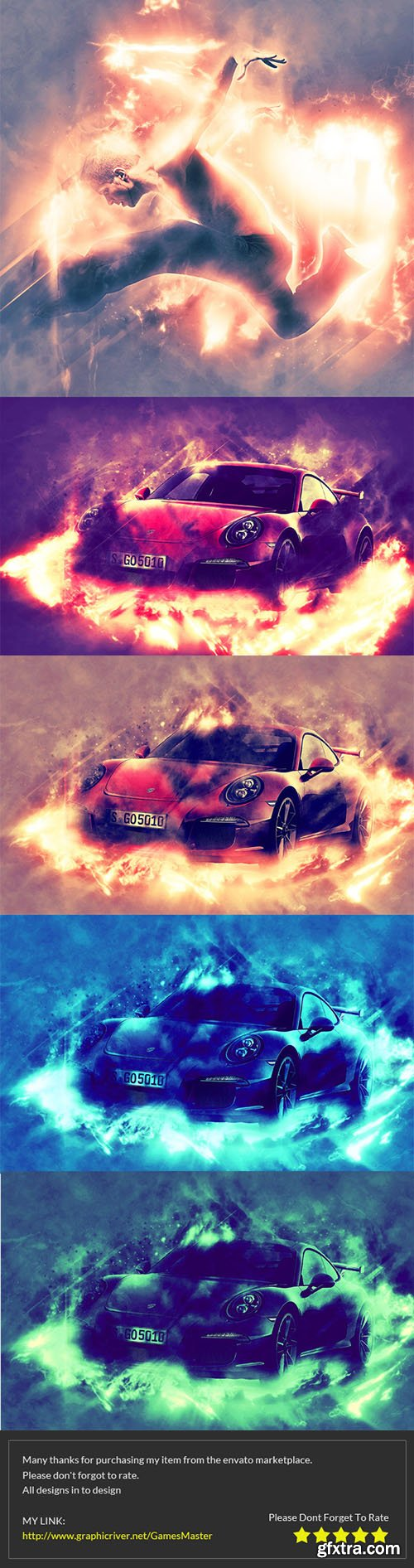 GraphicRiver Stunning Photoshop Action 10618846