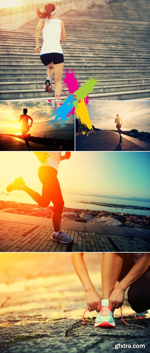 Stock Photo - Woman Runner 2