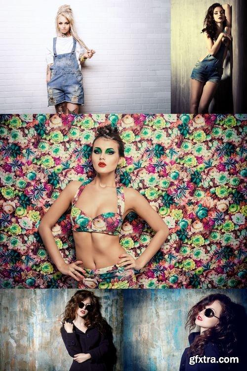 Stock Photos - Fashion & Beauty Woman