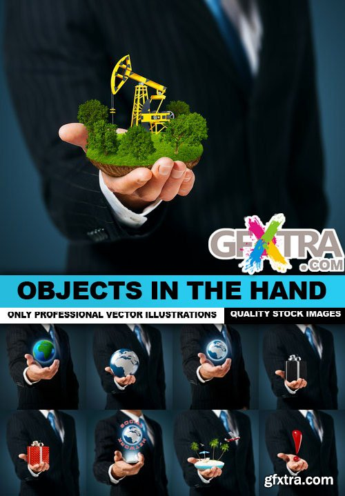 Objects In The Hand - 25 HQ Images