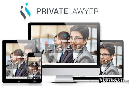 CreativeMarket - Private lawyer bootstrap theme