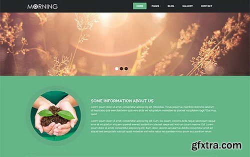 CreativeMarket - Morning - agriculture Theme