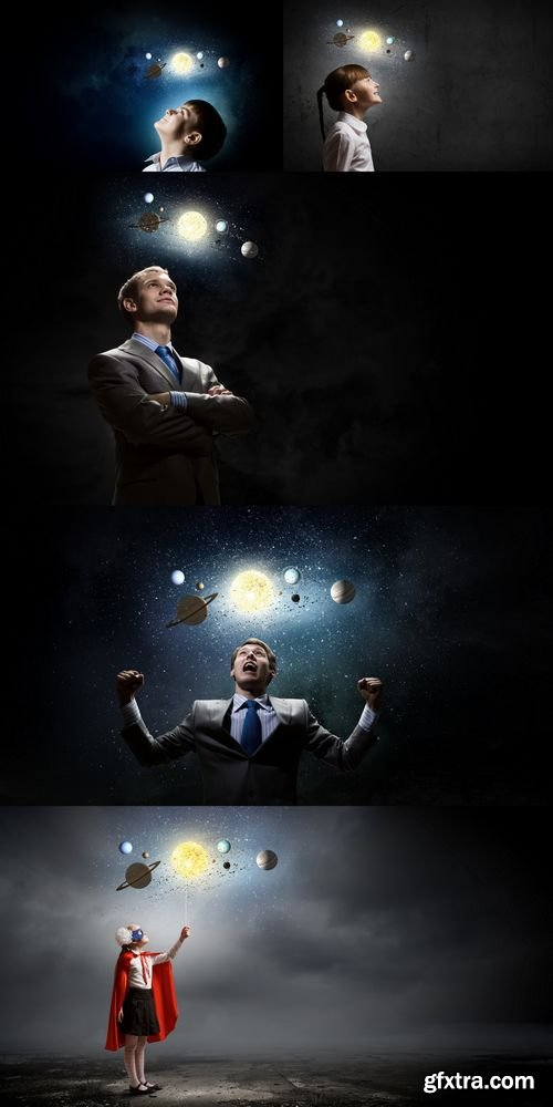 Stock Photos - People & Space System