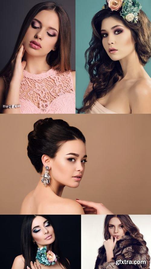 Stock Photos - Fashion Photo of Beautiful Young Woman