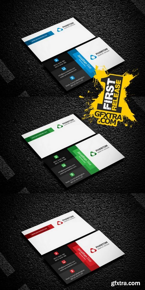 Creative Business Card Template - CM 218910