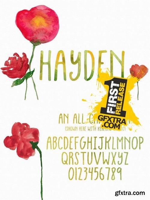 Hayden Font - CM 144217