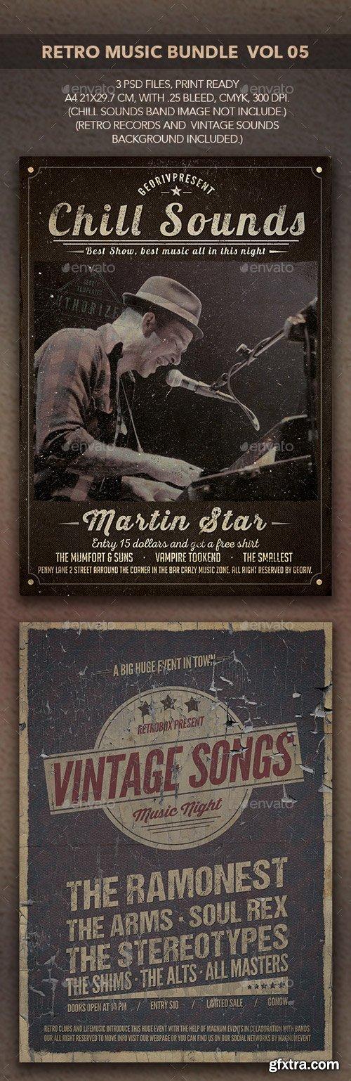 GraphicRiver - Retro Music Bundle 05