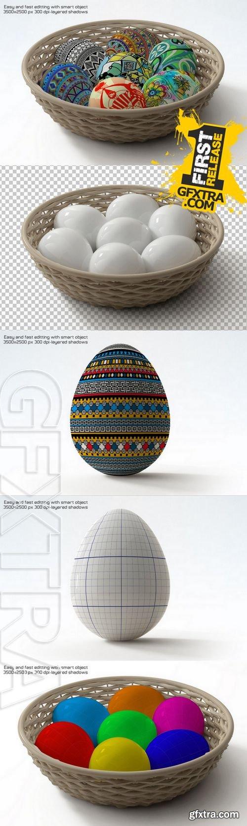 Easter Eggs Mock-up - CM 225368
