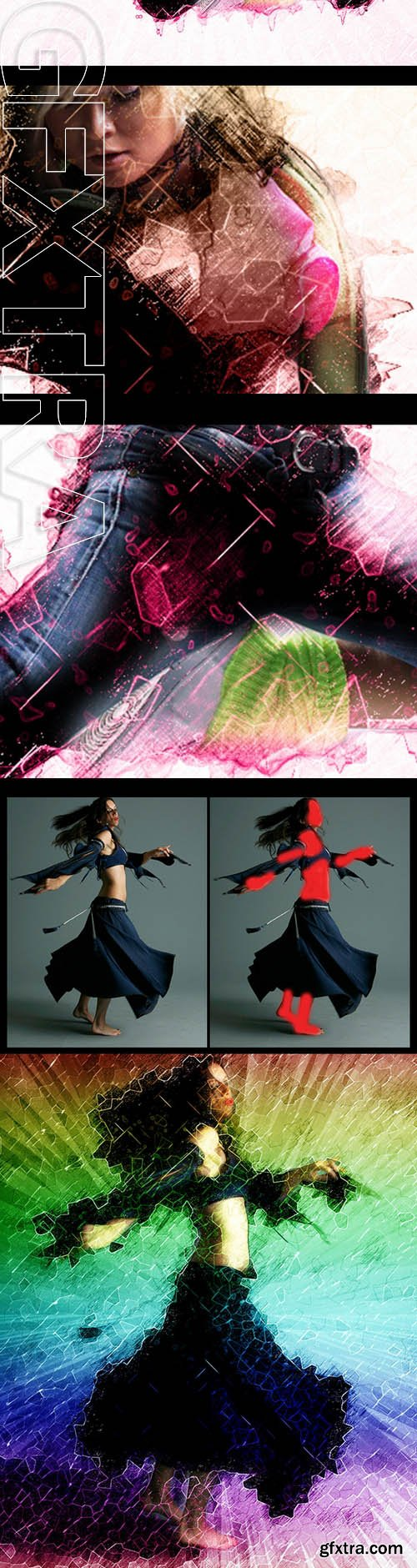 Abstract Modern Art - Photoshop Action - GraphicRiver 10132536