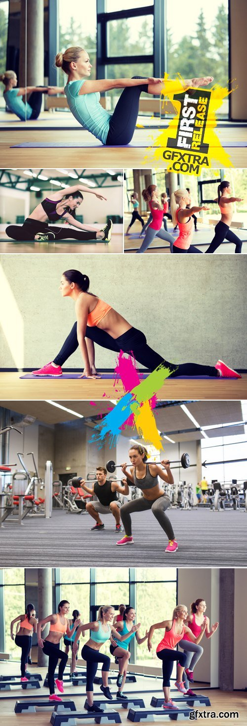 Stock Photo - Sports & Fitness Concept