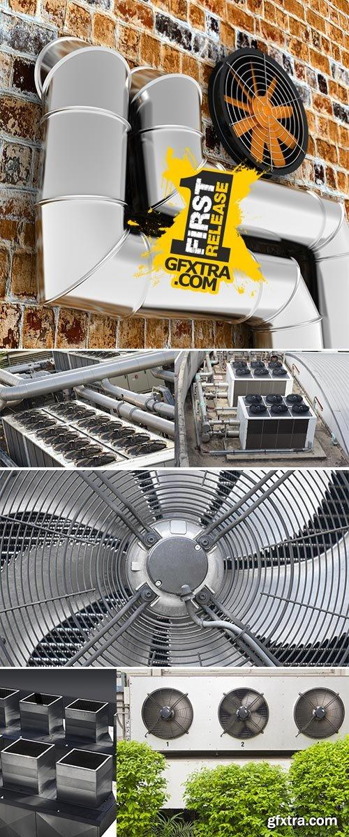 Stock Photo Ventilation systems