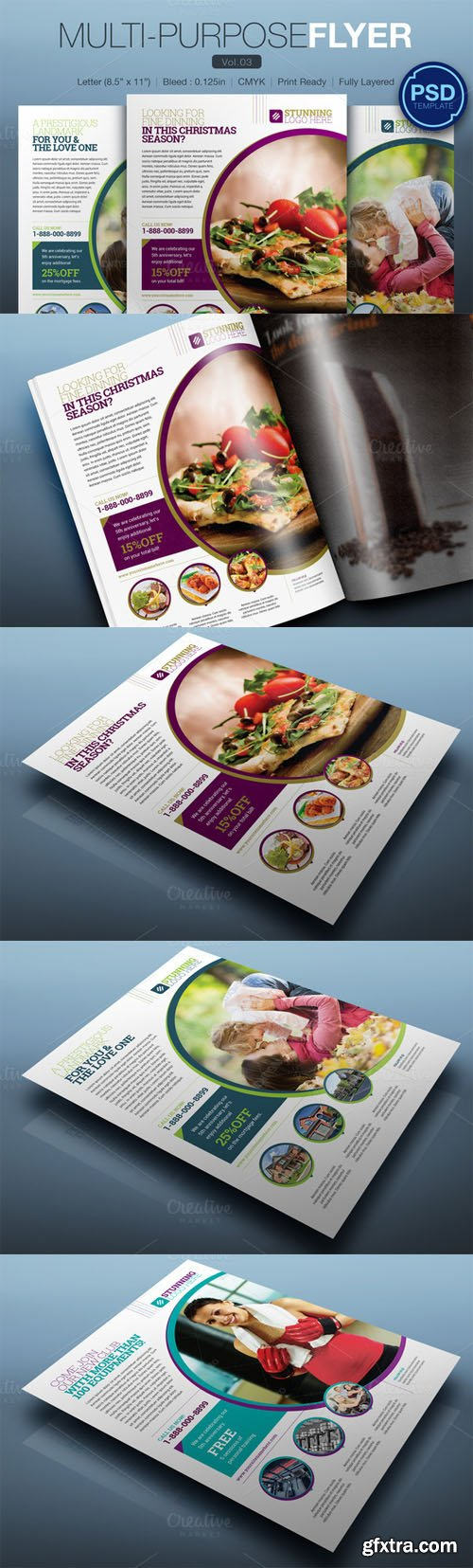 Multipurpose Flyer Vol.03 - CM 125841