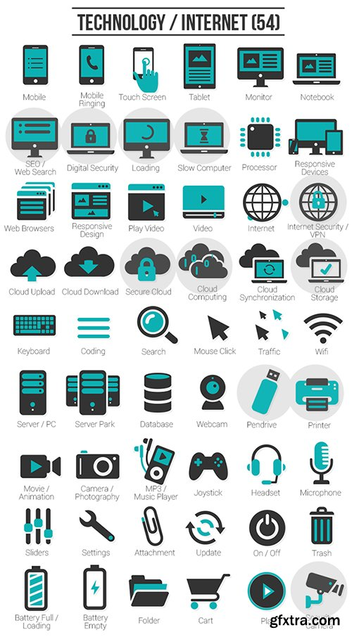 Videohive 300 Animated Icons 5586340