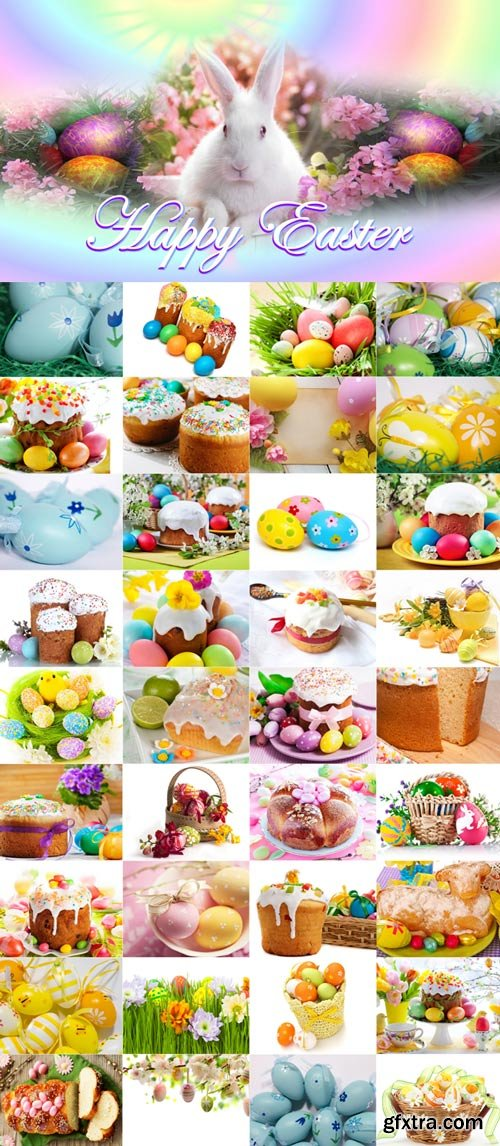 Happy Easter Raster Graphics -2