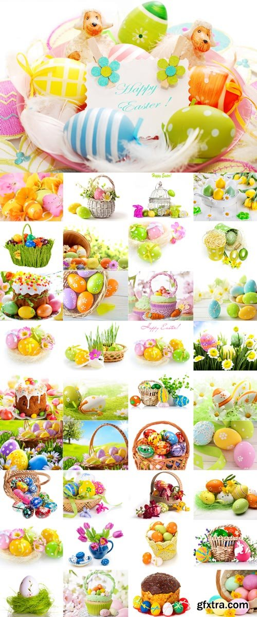 Happy Easter Raster Graphics