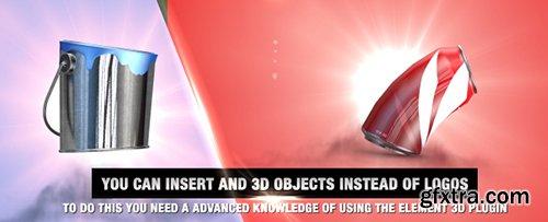 Videohive 3D Gravity Logo 10824177