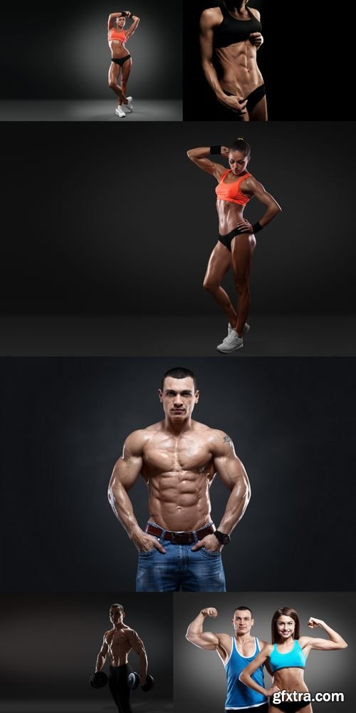 Stock Photos - Beautiful Athletic People