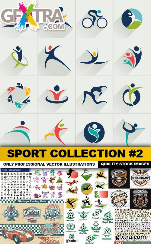 Sport Collection #2 - 25 Vector