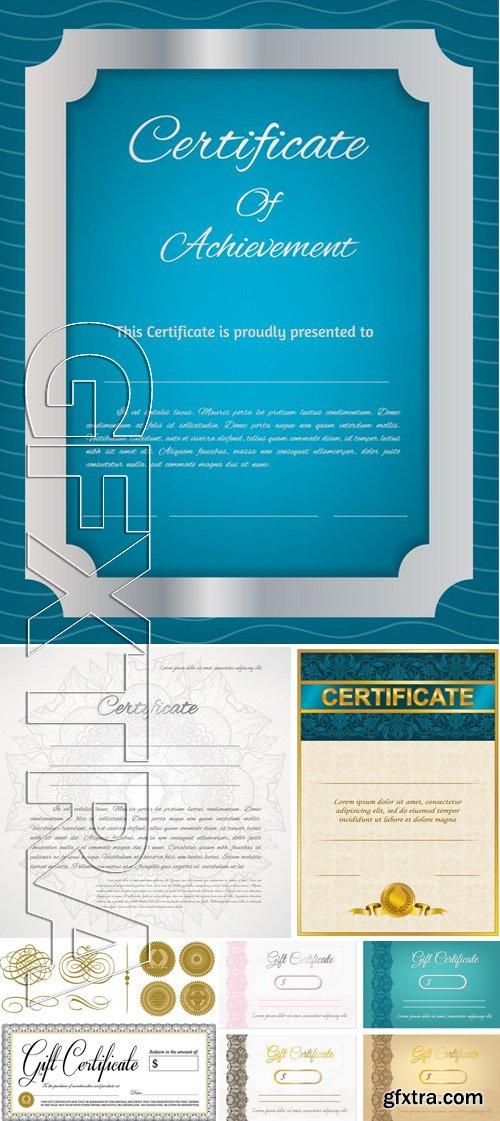 Stock Vectors - Certificate Template 14