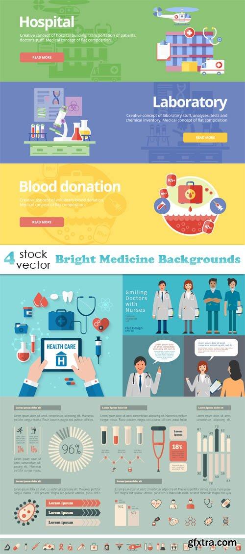 Vectors - Bright Medicine Backgrounds