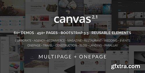 ThemeForest - Canvas v2.1 - The Multi-Purpose HTML5 Template - FULL