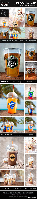 GR - Plastic Cup Mock Up Bundle
