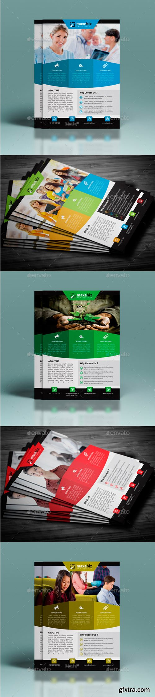 GR - Corporate Flyer Template
