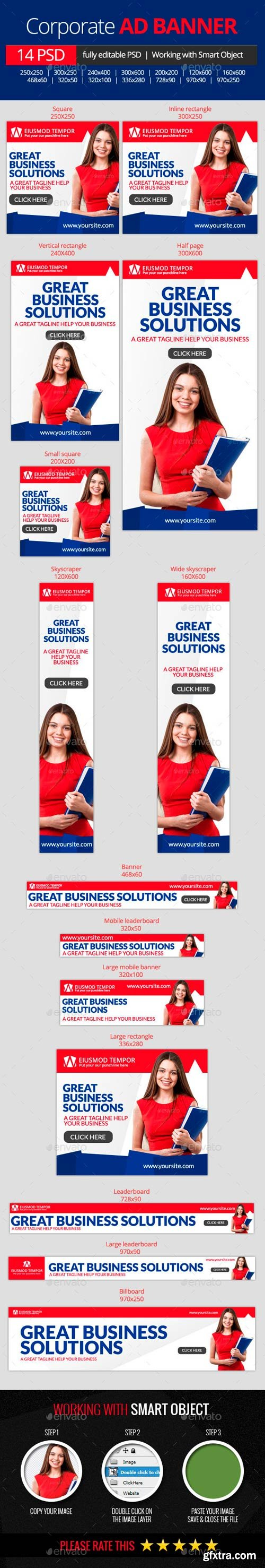 GR - Business Corporate web banners