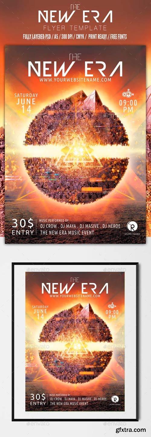 GR - The new era flyer template